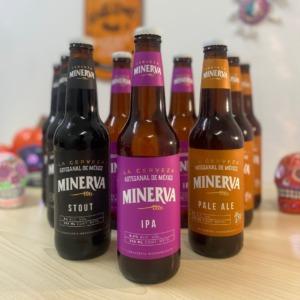 ★死者の日&ハロウィン限定★           クラフトビール 「ミネルバ」3種セット